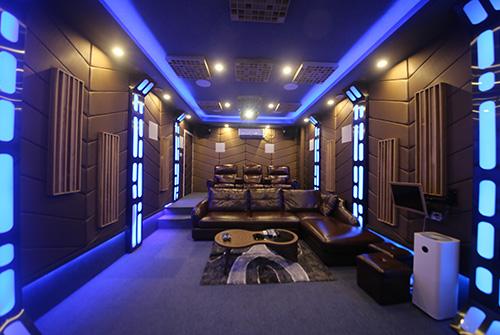 私人家庭影院设计